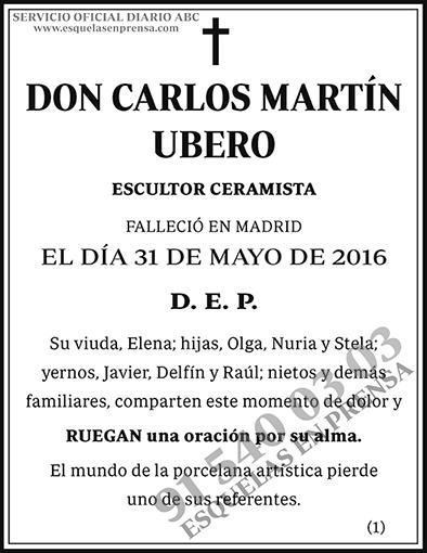 Carlos Martín Ubero